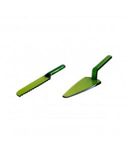 Yeşil Spatula Bıçak Seti