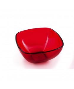 Akrilik Kırmızı Büyük Boy Kase