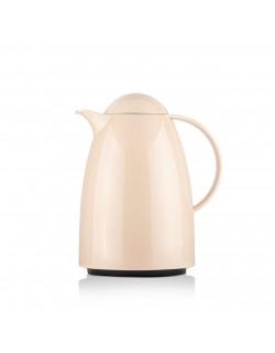 EWs Akrilik 1 LT Sütlü Kahve İçi Cam Termos
