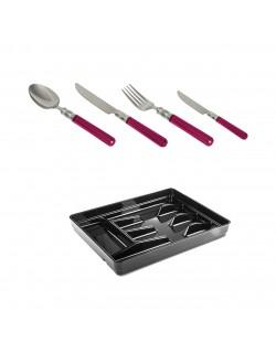 EWs 24 Parca Çatal Kaşık Bıçak Seti + Kaşıklık