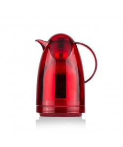 EWs Akrilik 1.5 LT Kırmızı Düz Kapaklı Termos