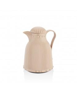 1 LT Soft Kahve Asel Barok Termos