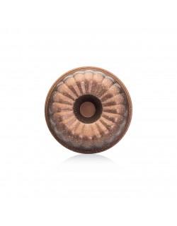 Bronz 26 CM Dilimli Kek Kalıbı