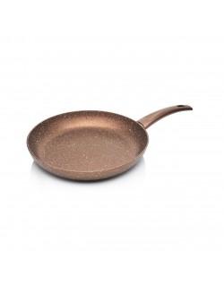 Bronz Renk 28 CM Granit Tava