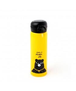 EWs  Paslanmaz Sarı Çelik Matara