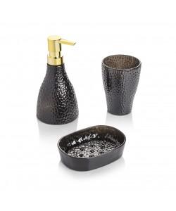 EWs 3Lü Banyo Seti Siyah