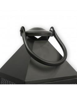3'Lü Siyah Metal Fener