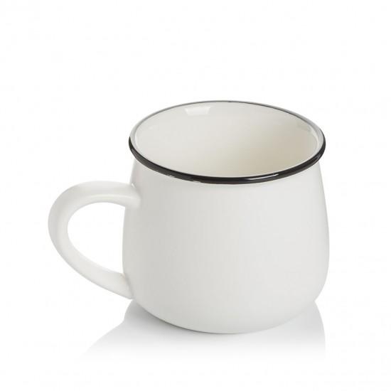 EWs Beyaz Figürlü Kupa