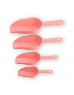 EWs 4'Lü Soft Pembe Plastik Ölçü Kaşığı