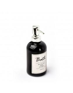 EWs Yaldızlı Siyah Sarı Sıvı Sabunluk