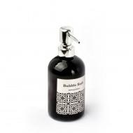 EWs Yaldızlı Siyah Gri Sıvı Sabunluk