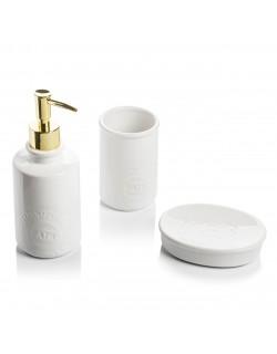 EWs 3 Parça Leo Beyaz Banyo Seti